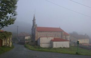 Almost midday, and still misty en route to Outeira