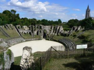 Amphitheatre and Saint Eutrope church, Saintes