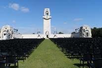 Australian War Memorial near Villers-Bretonneux