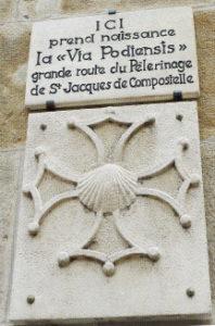 Chemin De St Jacques - Via Podensis