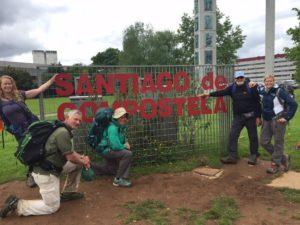 Joyful arrival at Santiago