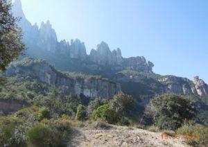 Scenery at Montserrat