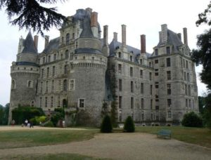 The chateau at Brissac