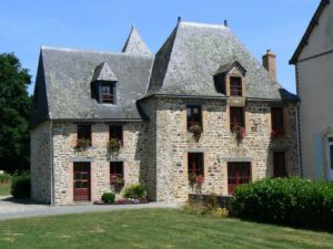 This beautiful old stone house gite which I had all to myself!