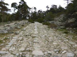 Via Romana, Fuenfria pass
