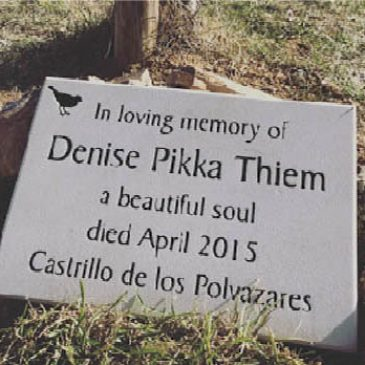 At Last: A Stone for Denise