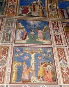 The Giotto fresco in Padova