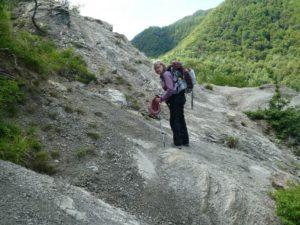 Walking through the treacherous Serra Pass