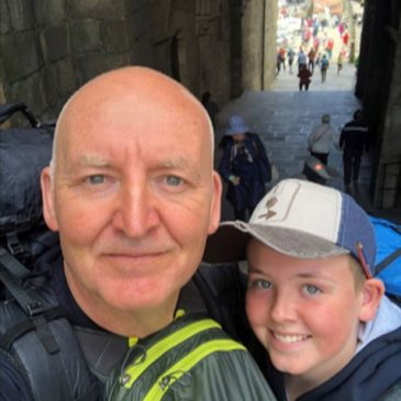 Me, Leo and The Camino…  A Father and Son Journey