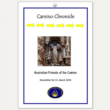 Camino Chronicle Newsletter No 32 March 2020