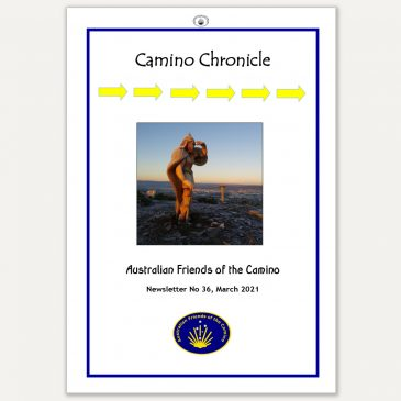 Camino Chronicle Newsletter No 36 March 2021